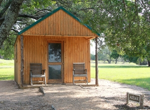 Addax cabin outside